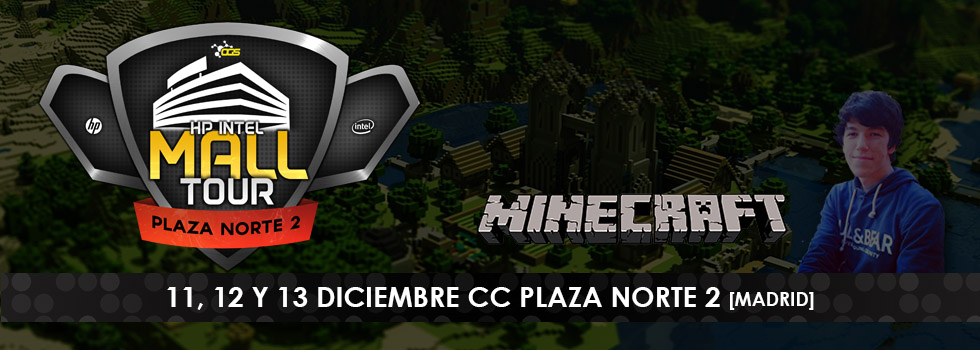 Minecraft HP Intel Mall Tour Plaza Norte 2